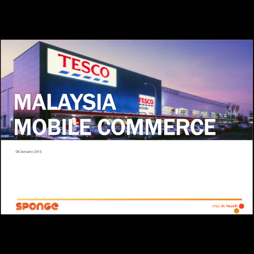 Tesco Malaysia mobile commerce research